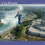 Jay Cochrane Poster of Skylon Tower skywalk in Niagara Falls. ©Mark D Phillips